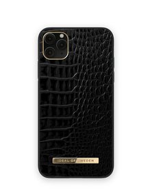 iDeal of Sweden Atelier Etui Obudowa do iPhone 11 Pro Max / iPhone Xs Max (Neo Noir Croco)
