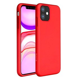Crong Color Cover Etui Obudowa do iPhone 11 (Red)