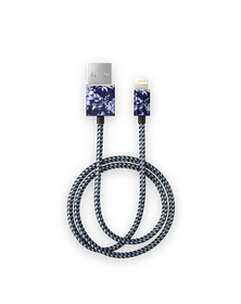 iDeal Of Sweden Cable Kabel USB Lightning MFI 1m (Sailor Blue Bloom)