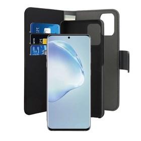 Puro Wallet Detachable Etui Portfel 2w1 Samsung Galaxy S20+ Plus (Czarny)