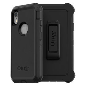OtterBox Defender Etui Pancerne z Klipsem do iPhone Xr (Black)