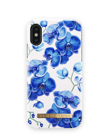 iDeal Of Sweden Fashion Case Etui Obudowa do iPhone Xs / X (Baby Blue Orchids)