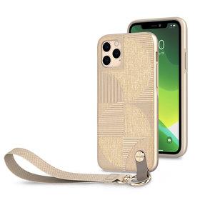 (EOL) Moshi Altra Etui z Odpinaną Smyczką do iPhone 11 Pro (SnapTo™) (Beige)