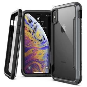 X-Doria Defense Shield Etui Aluminiowe do iPhone Xs / X (Black)