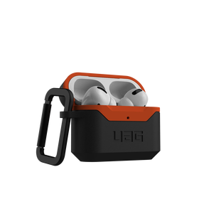 Urban Armor Gear Hard Case V2 Etui Pancerne do AirPods Pro (Black/Orange)