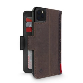 Twelve South BookBook Etui Skórzane z Klapką do iPhone 11 Pro (Brown)