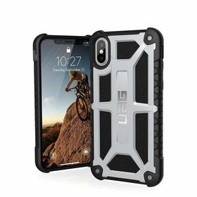 Urban Armor Gear Monarch Etui Pancerne do iPhone Xs / iPhone X (Platinium)