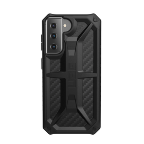 Urban Armor Gear Monarch Etui Pancerne do Samsung Galaxy S21 (Carbon Fiber)