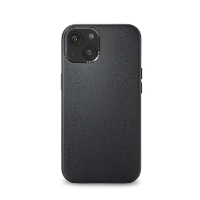 Decoded Back Cover Etui Skórzane do iPhone 13 (Black)
