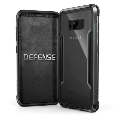 (EOL) X-Doria Defense Shield Etui Aluminiowe do Samsung Galaxy S8+ Plus (Black) (1)