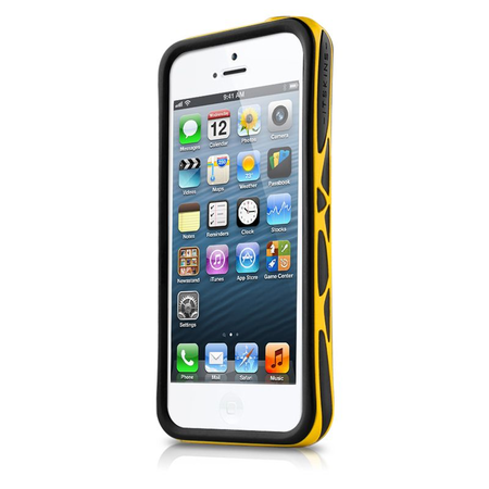(EOL) ItSkins Venum Etui Bumper iPhone SE / 5S / 5 (Black/Yellow) (1)