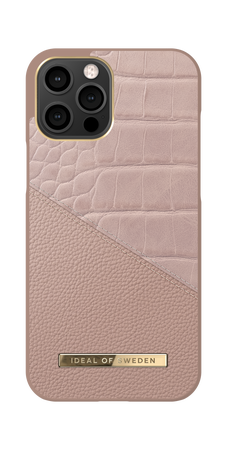 iDeal of Sweden Atelier Case Etui Obudowa do iPhone 12 Pro Max (Rose Smoke Croco) (1)