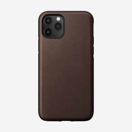 Nomad Rugged Case Skórzane Etui do iPhone 11 Pro (Rustic Brown) (1)