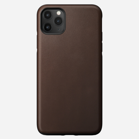 Nomad Rugged Case Skórzane Etui do iPhone 11 Pro Max (Rustic Brown) (1)