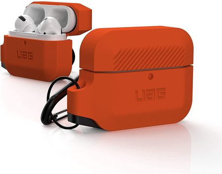 Urban Armor Gear Silicone Case Etui Silikonowe do AirPods Pro (Orange) (1)