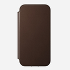 Nomad Rugged Folio MagSafe Skórzane Etui do iPhone 12 Pro / iPhone 12 (Rustic Brown) (4)