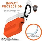 Urban Armor Gear Silicone Case Etui Silikonowe do AirPods Pro (Orange) (11)
