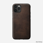 Nomad Rugged Case Skórzane Etui do iPhone 11 Pro (Rustic Brown) (2)