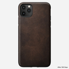 Nomad Rugged Case Skórzane Etui do iPhone 11 Pro Max (Rustic Brown) (2)