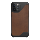 Urban Armor Gear Metropolis LT Skórzane Etui Pancerne do iPhone 12 Pro Max (LTHR ARMR Brown) (1)