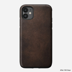 Nomad Rugged Case Skórzane Etui do iPhone 11 (Rustic Brown) (2)