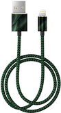 iDeal of Sweden Fashion Cable Przewód USB ze Złączem Lightning MFI (1 m) (Emerald Satin)