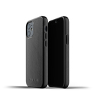 Mujjo Full Leather Case Etui Skórzane do iPhone 12 Mini (Black)