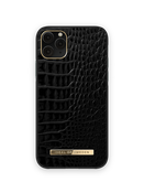 iDeal of Sweden Atelier Etui Obudowa do iPhone 11 Pro / iPhone Xs / iPhone X (Neo Noir Croco)