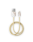 iDeal Of Sweden Cable Kabel USB Lightning MFI 1m (Carrara Gold)