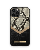 iDeal of Sweden Atelier Etui Obudowa do iPhone 12 Pro / iPhone 12 (Midnight Python)
