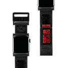 Urban Armor Gear UAG Active Strap Materiałowy Pasek do Apple Watch 40 mm / 38 mm (Black)