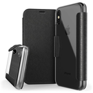 (EOL) X-Doria Engage Folio Etui z Kieszeniami Na Kartę do iPhone Xs / iPhone X (Black)