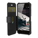 Urban Armor Gear UAG Metropolis Etui Pancerne z Klapką do iPhone 8 / 7 / 6S / 6 (Black)