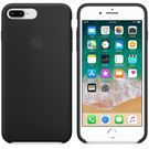 Apple Silicone Case Etui Obudowa iPhone 8 Plus / 7 Plus (Czarny)