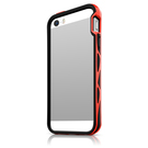 (EOL) ItSkins Hybrid Edge Etui Bumper iPhone SE / 5S / 5 (Black/Red)