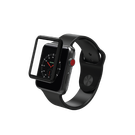Zagg InvisibleShield Glass Curve Elite Szkło Hartowane Na Cały Ekran do Apple Watch 3 (38mm) / Apple Watch 2 (38mm) / Apple Watch 1 (38mm)