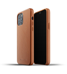Mujjo Full Leather Case Etui Skórzane do iPhone 12 Pro / iPhone 12 (Tan)