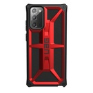 Urban Armor Gear Monarch Etui Pancerne do Samsung Galaxy Note 20 (Crimson)