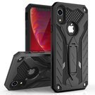 (EOL) Zizo Static Cover Etui Pancerne z Podstawką do iPhone Xr (Black/Black)