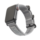 Urban Armor Gear UAG Nato Strap Materiałowy Pasek do Apple Watch 5 (40mm) / Apple Watch 4 (40mm) / Apple Watch 3 (38mm) / Apple Watch 2 (38mm) / Apple Watch 1 (38mm) (Grey)