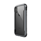 X-Doria Defense Shield Etui Aluminiowe do iPhone Xs / iPhone X (Drop Test 3m) (Black)