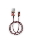 iDeal Of Sweden Cable Kabel USB Lightning MFI 1m (Antique Roses)