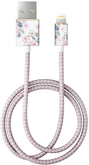 iDeal of Sweden Fashion Cable Przewód USB ze Złączem Lightning MFI (1 m) (Floral Romance)