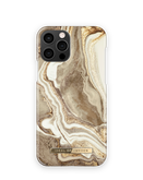 iDeal of Sweden Fashion Etui Obudowa do iPhone 12 Pro / iPhone 12 (Golden Sand Marble)