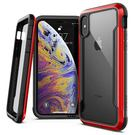 (EOL) X-Doria Defense Shield Etui Aluminiowe do iPhone Xs / X (Red)