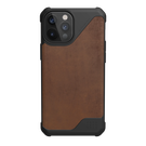 Urban Armor Gear Metropolis LT Skórzane Etui Pancerne do iPhone 12 Pro Max (LTHR ARMR Brown)