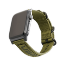 Urban Armor Gear Nato Strap Materiałowy Pasek do Apple Watch 5 (44mm) / Apple Watch 4 (44mm) / Apple Watch 3 (42mm) / Apple Watch 2 (42mm) / Apple Watch 1 (42mm) (Olive Drab)