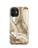 iDeal of Sweden Fashion Etui Obudowa do iPhone 12 Mini (Golden Sand Marble)