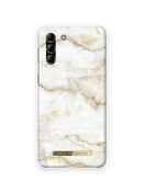 iDeal of Sweden Fashion Etui Obudowa do Samsung Galaxy S21+ (Golden Pearl Marble)