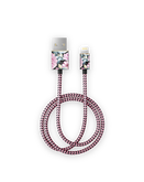 iDeal Of Sweden Cable Kabel USB Lightning MFI 1m (Peony Garden)